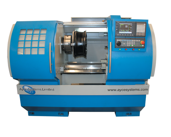 Ayce Systems Diamond Cutting CNC Alloy Wheel Lathe