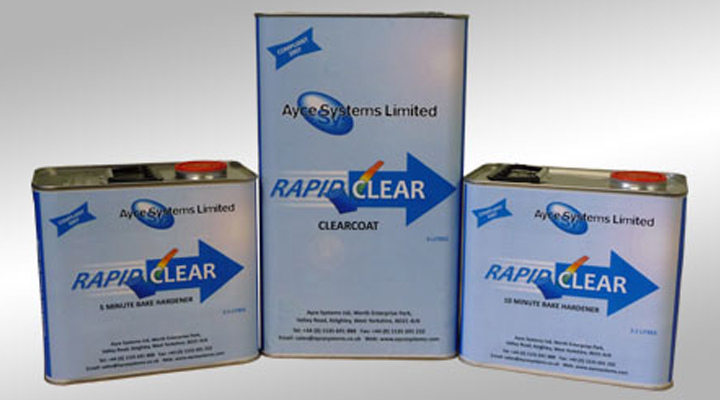 Ayce Systems Rapid Clear Clearcoat Lacquer