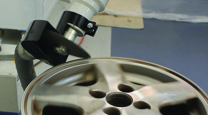Ayce Systems' range of alloy wheel repair equipment
