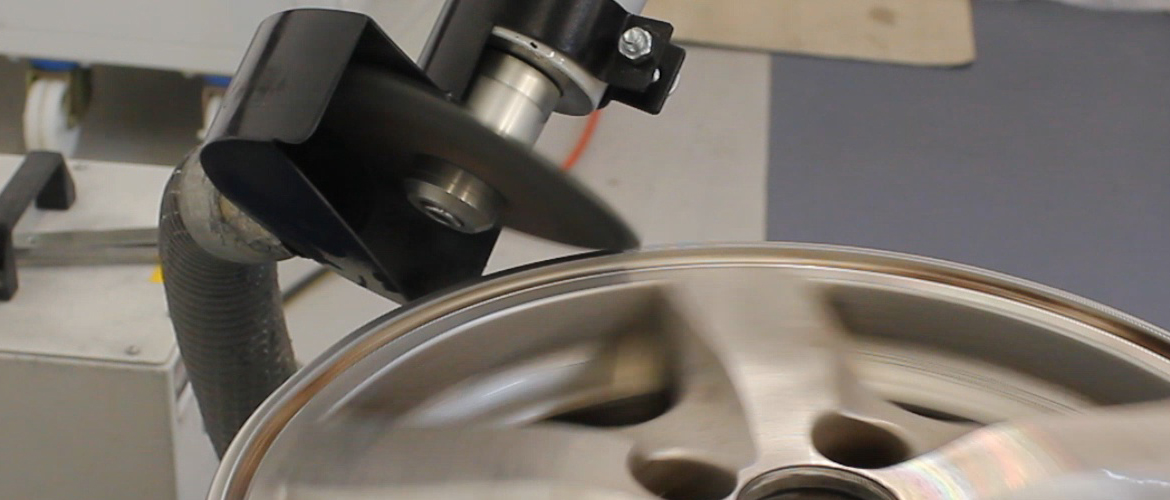 See more information about Ayce Systems' range of alloy wheel repair equipment