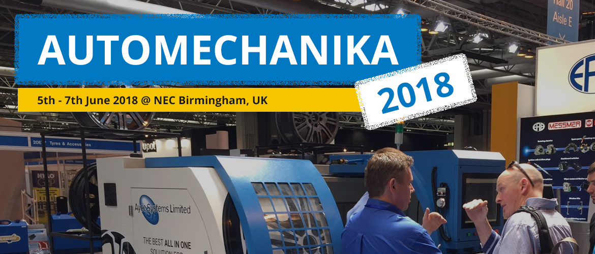 See more information about Ayce Systems at Automechanika 2018