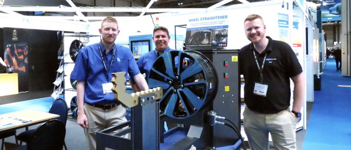 See more information about Ayce Systems at NEW wheel straightener