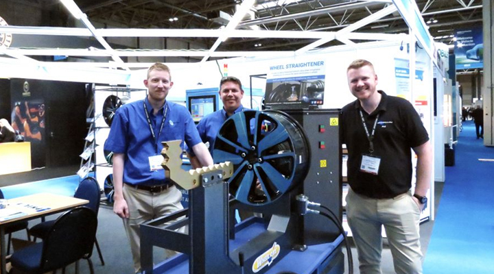 Ayce Systems' launches new alloy wheel straightener