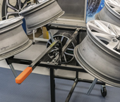 See more information about Ayce Systems' NEW alloy wheel preparation stand