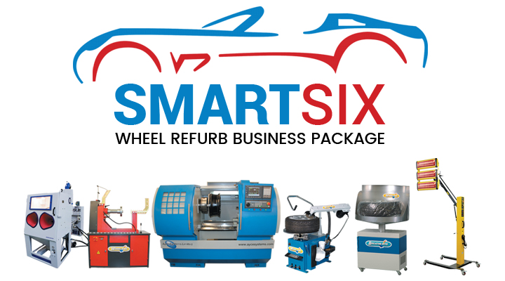 Ayce Systems' launch new SMART SIX alloy wheel repair business package