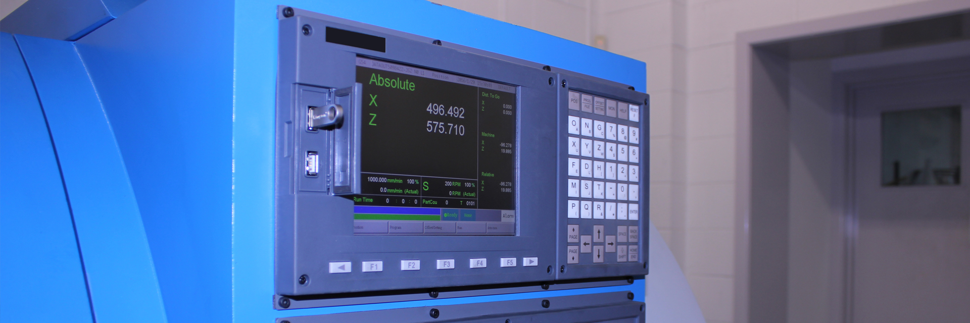 Ayce Systems' Alloy Wheel CNC Control Panel