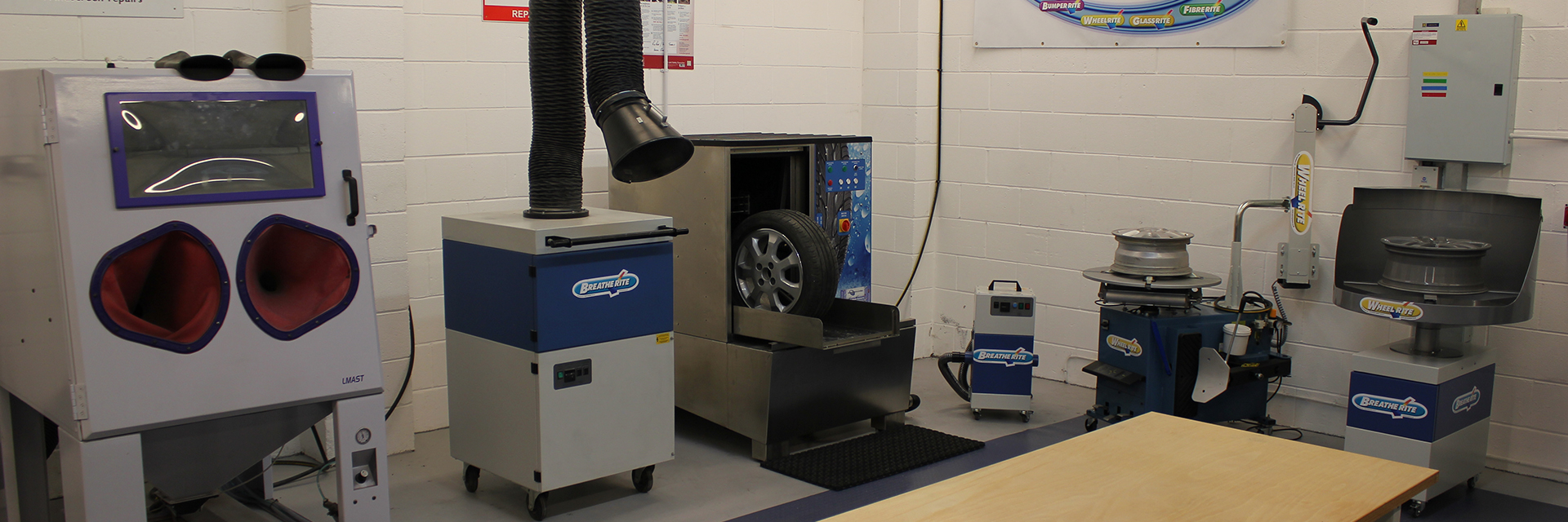 Photo showing Smart Repair Systems at Ayce Systems Demonstration showroom