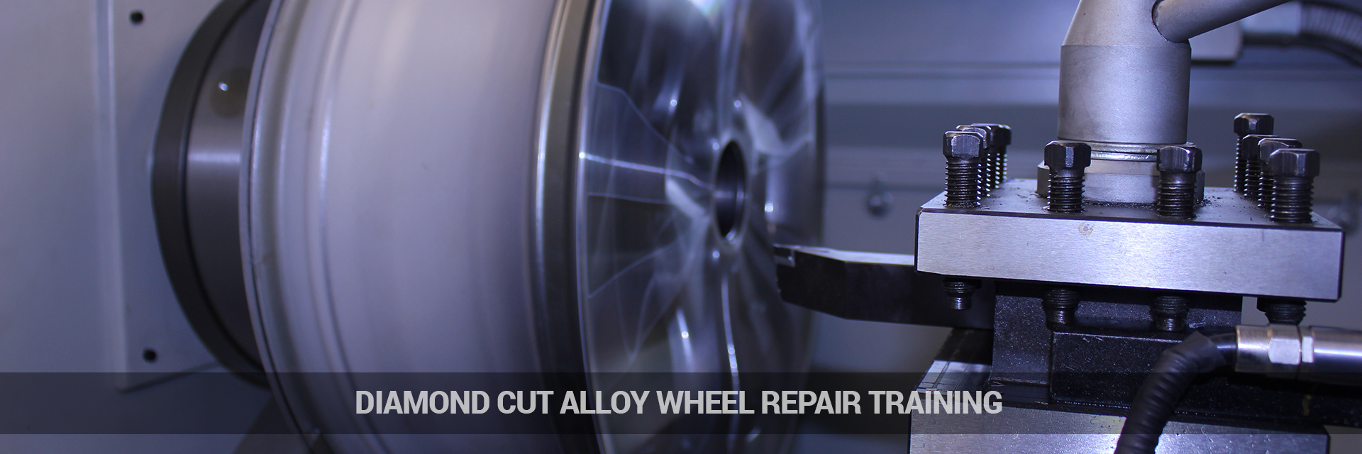 Diamond Cutting Alloy Wheel Repair Training from Ayce Systems